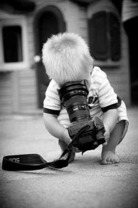 cute photographer