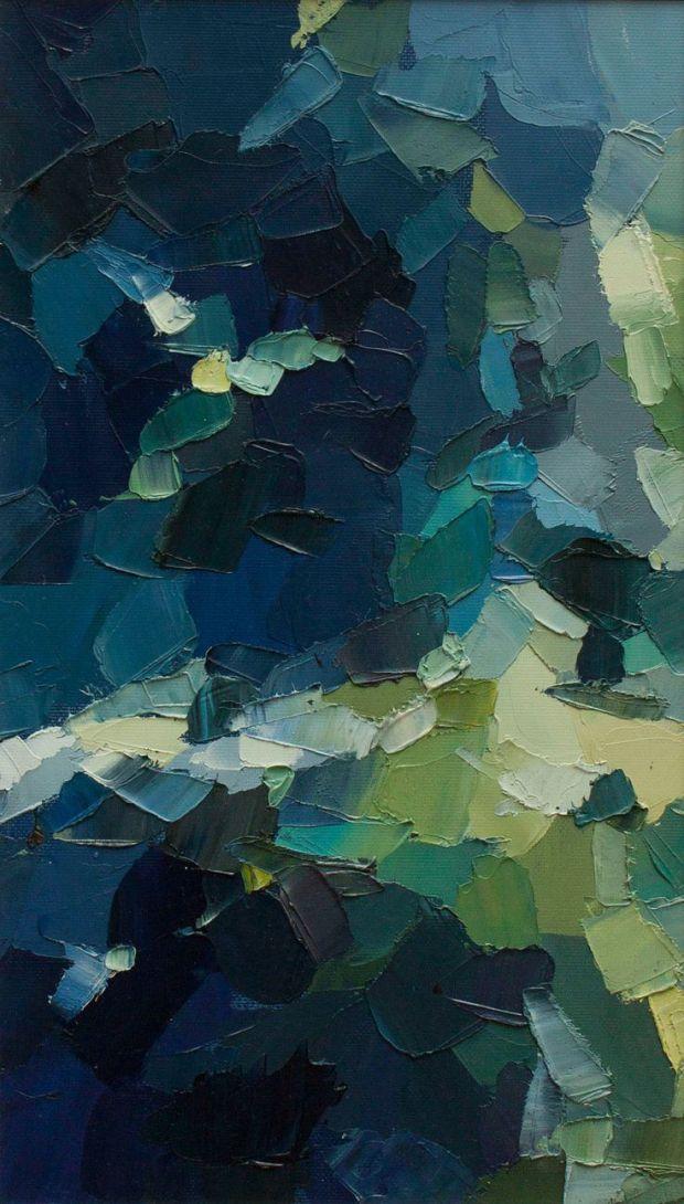 Nocturne Woodland by Kostadina Nacheva