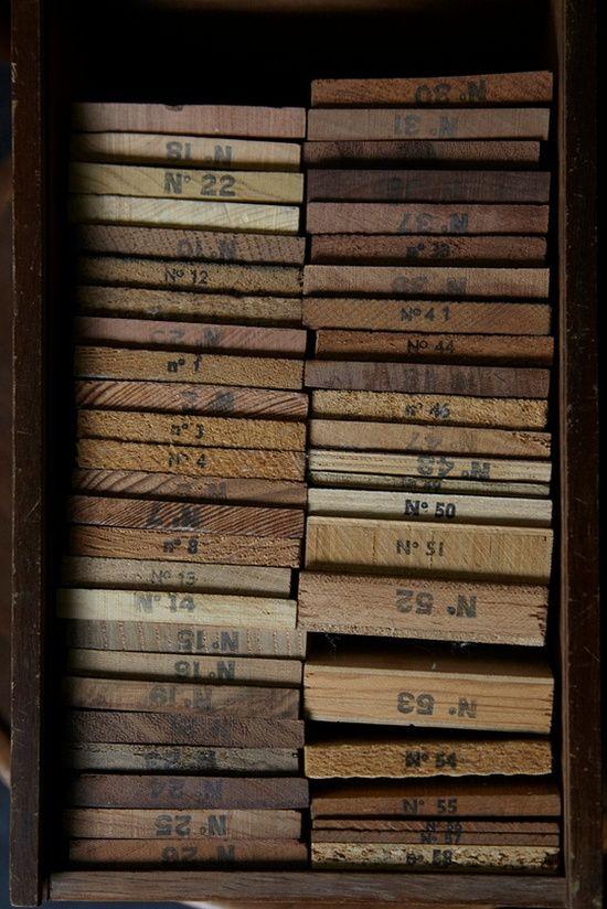 numbered slats