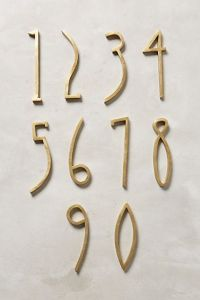 house numbers_anthropologie