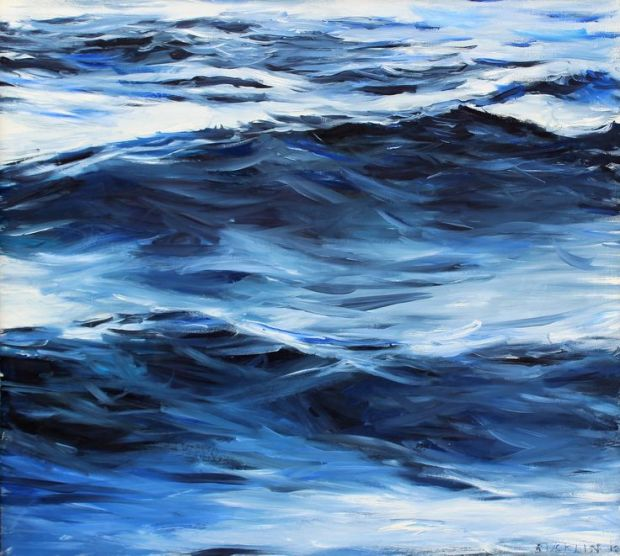 Indigo Waves by John Bucklin