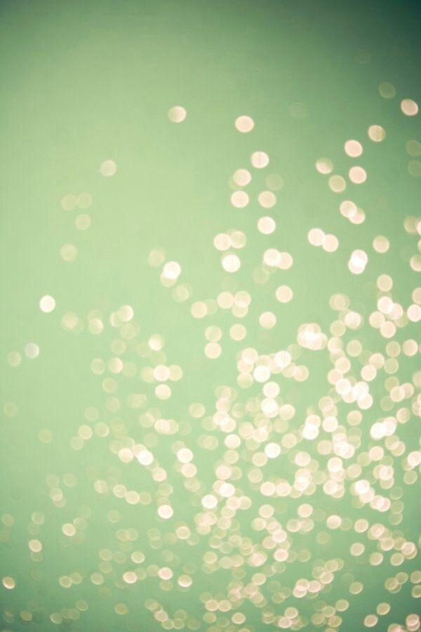 pale green sparkle