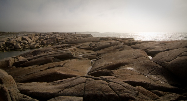 Peggys Cove Nova Scotia by the Blue Brick