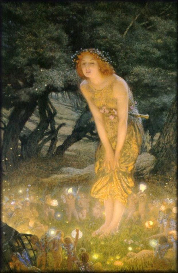 The Fairy Ring by John William Waterhouse