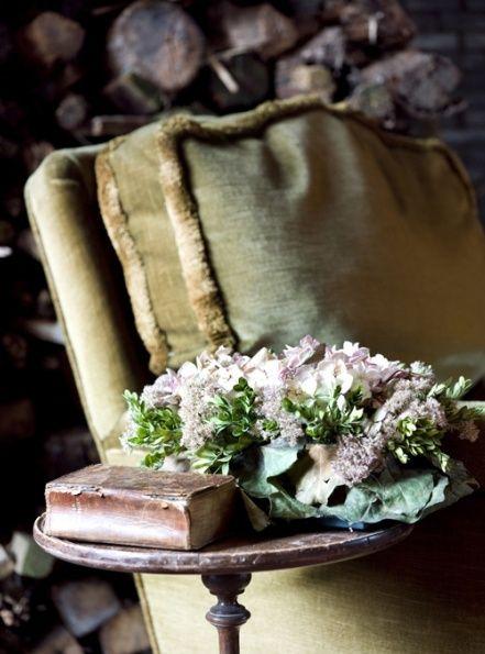 velvet and flowers
