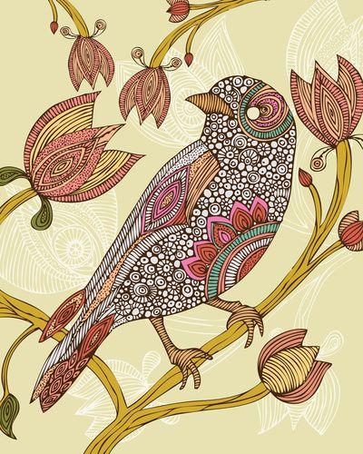 Anais Art Print by Valentina Harper
