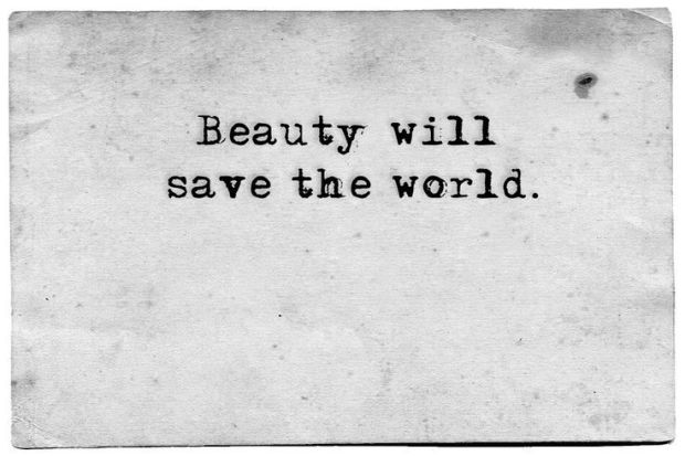 beauty will save