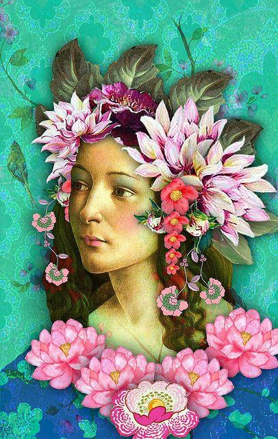 botticelli angel by Romany Soup