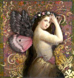 butterfly girl_Romany Soup