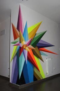 Chaos Star by Okudart aka Oscar San Miguel Erice