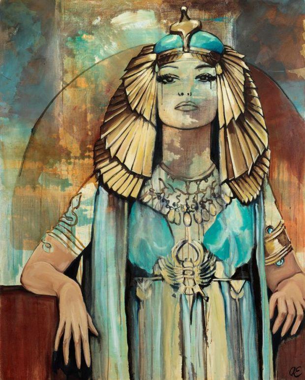 Cleopatra by Alexandra Edmonds
