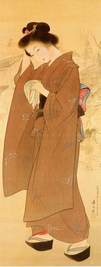 copper kimono_japanese art