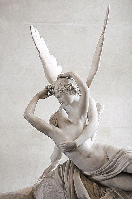 Cupid & Psyche, Louvre Museum