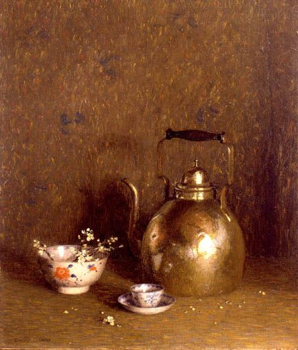 "Dorothy Ochtman ""Still Life with Kettle"""