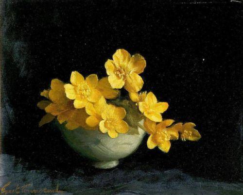 Ernest Townsend_Marsh Marigolds