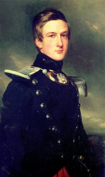 Henri d'Orléans, Duke of Aumale, by Franz Xaver Winterhalter Oil on canvas c. 1840