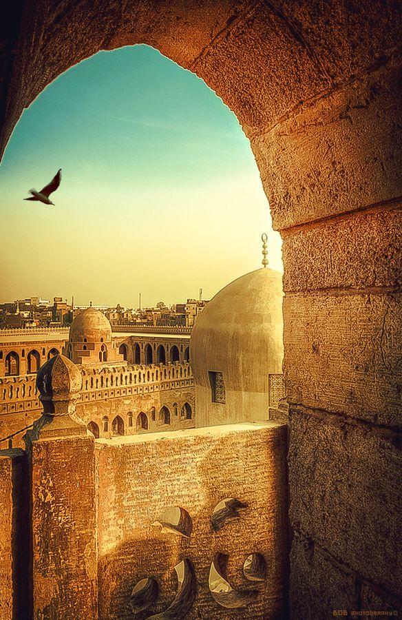 Ibn Tulun masjid, Cairo, Egypt