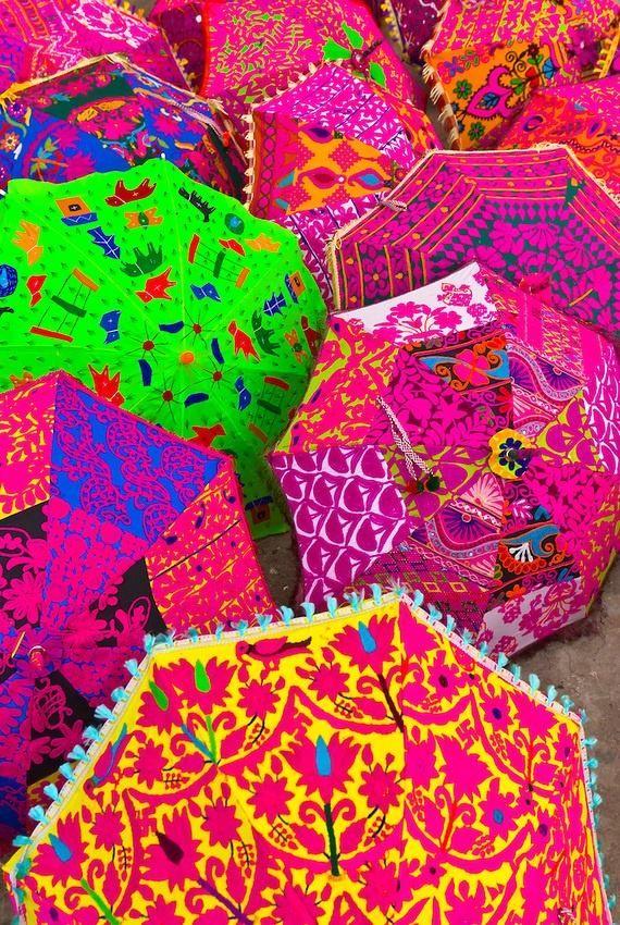 indian umbrellas
