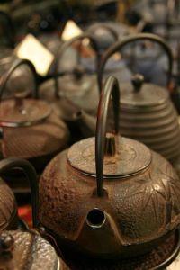 iron kettles