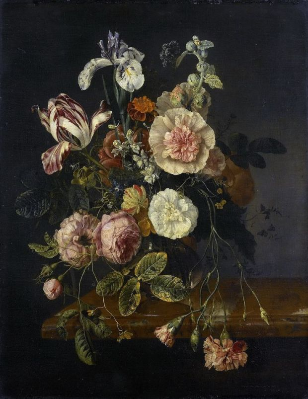 jacob van walscapelle floral still life