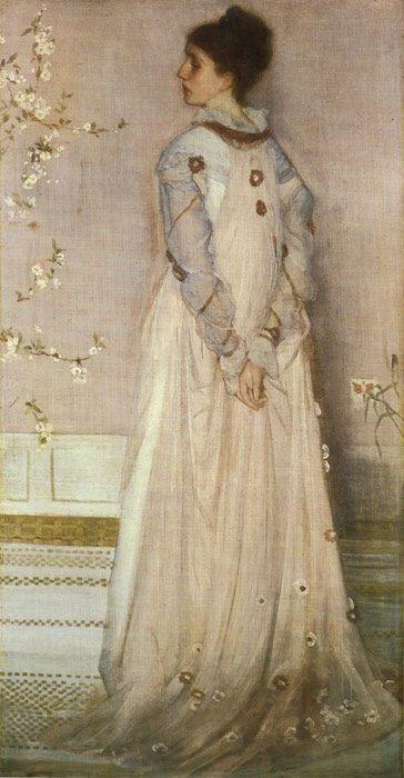 James Abbott McNeill Mrs. Frederick R. Leyland, 1872
