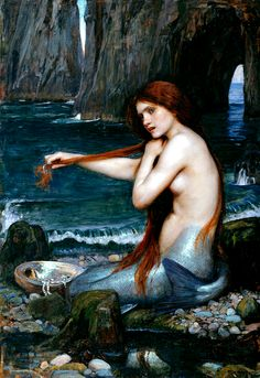 John William Waterhouse_A Mermaid, 1901