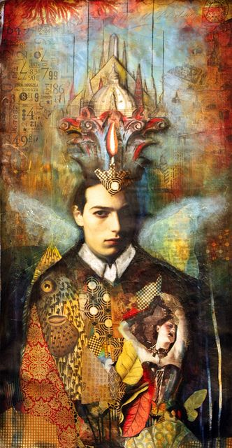 King of Wands by Andrea Matus
