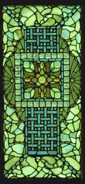 LaFarge Stained Glass Window
