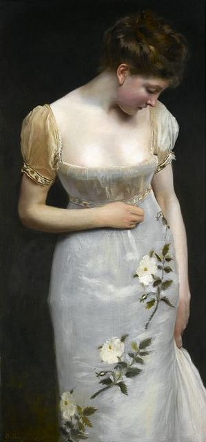 mademoiselle-by-gustave-jean-jacquet