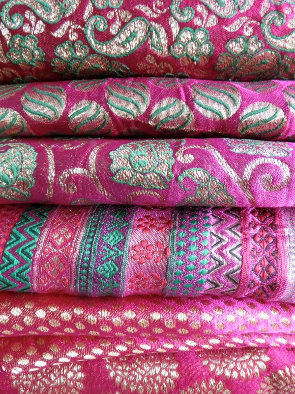 magenta textiles