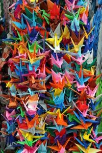oragami cranes
