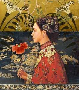 orient-lily by Romany Soup