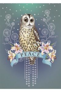 PAPAYA! Art Peace Owl