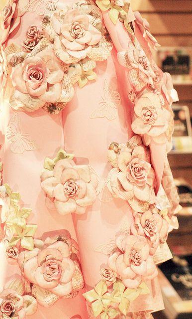 rose dress