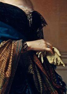 Saturnina Canaleta de Girona (detail), Federico de Madrazo y Kuntz