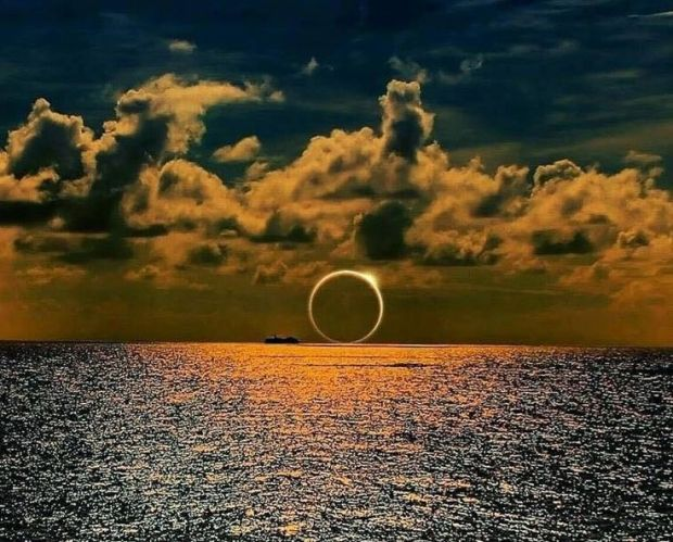 sunset eclipse