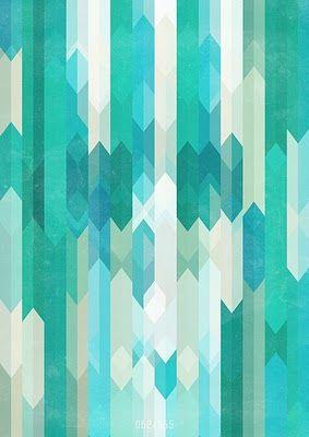 tourquoise pattern