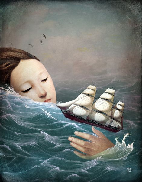 Voyage Art Print by Christian Schloe