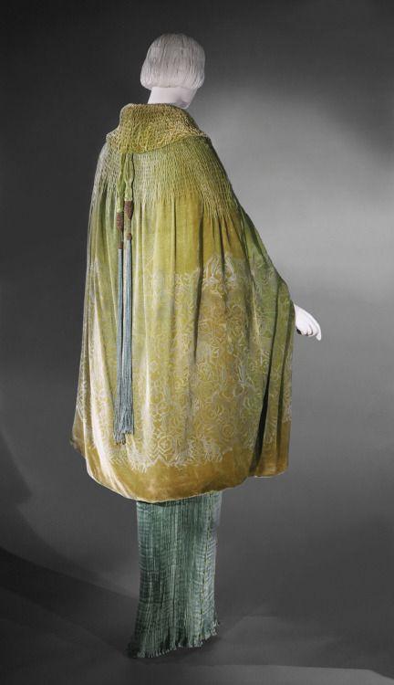 Woman's Cape, designed by Maria Monaci Gallenga