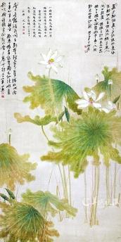 Zhang DaQian_Lotus
