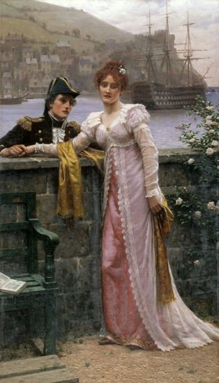 Adieu by Edmund Blair Leighton