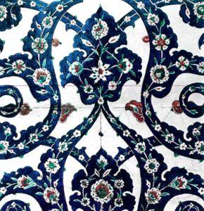 blue tile