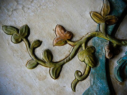 carved vine