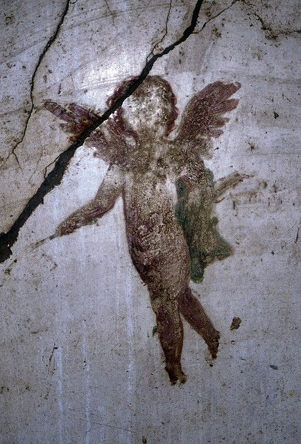 Cherub, Detail From Wall Painting, Pompeii by TyB