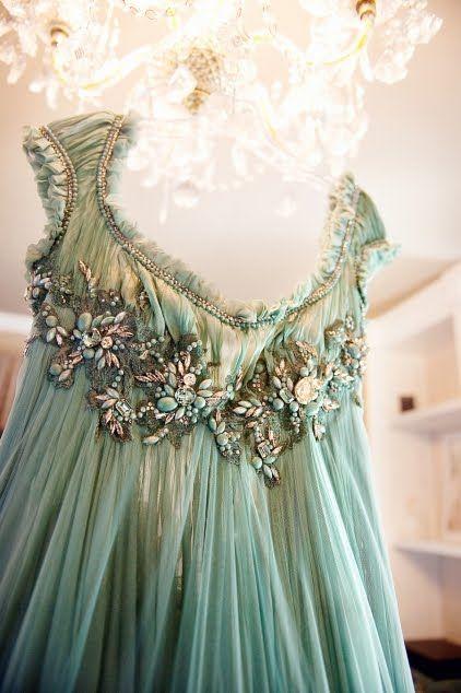 delicate vintage dress