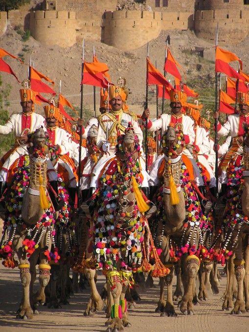 Dessert Festival in Jaisalmer