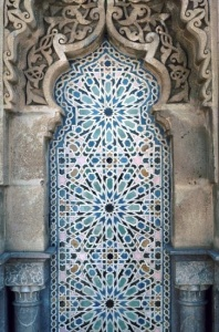 Detail at a Rabat Mosque, Morocco