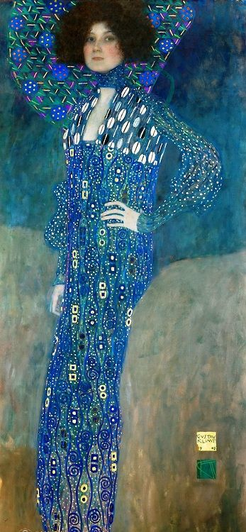 Emilie Flöge by Gustav Klimt