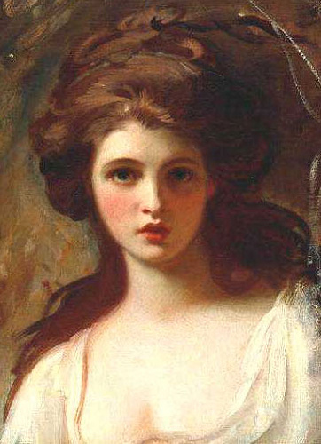 Emma Hamilton as Circe by George Romney