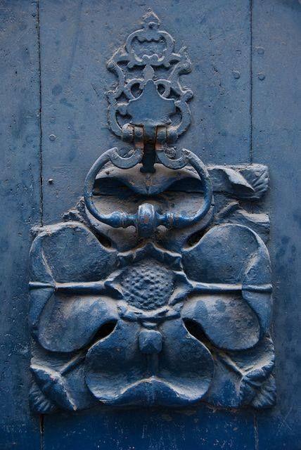 floral door knocker